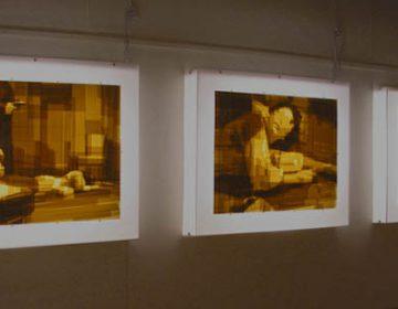 Mark Khaisman Tapework / Pannelli retroilluminati e nastro adesivo
