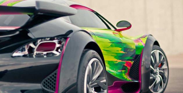 Francoise Nielly CITROËN Concept Car