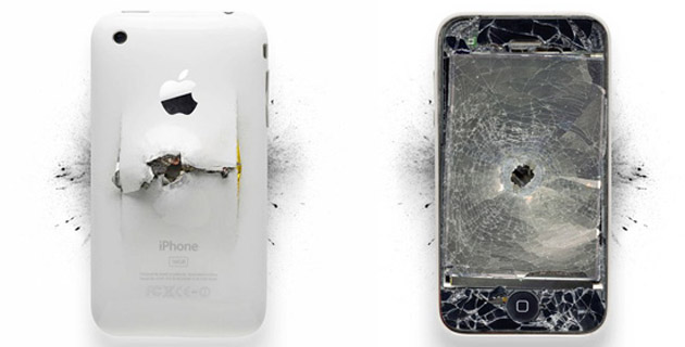 Apple Destroyed Products