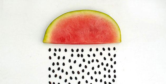 Watermelon Rain by Sarah Illenberger