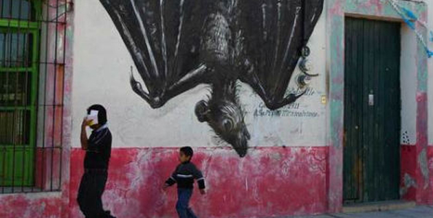 StreetArt in Mexico by ROA