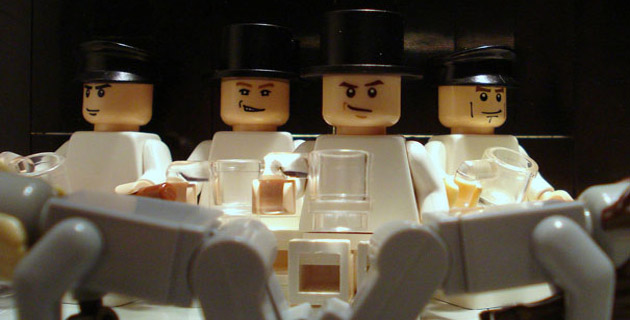 15 Famous Movie Scenes by Lego