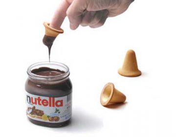 Nutella's Finger Biscuit