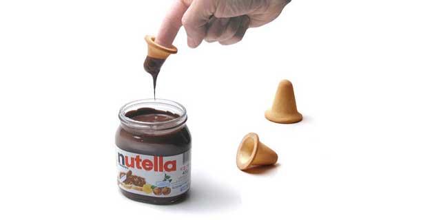 Nutella's Finger Biscuit