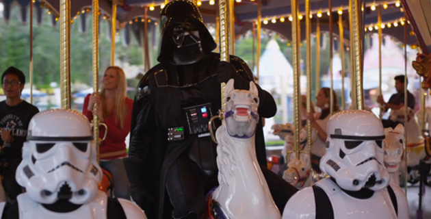 Star Tours: Darth Vader Goes To Disneyland
