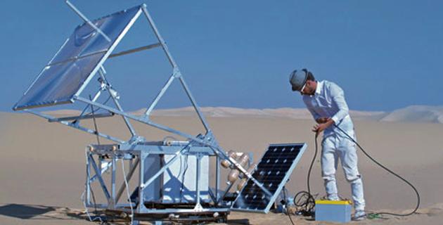 The Solar Sinter | Markus Kayser