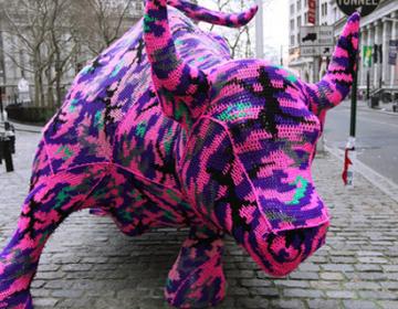 Yarn Bombing movement art
