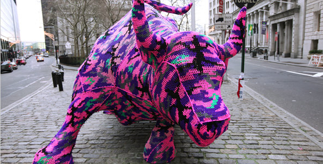 Yarn Bombing movement art