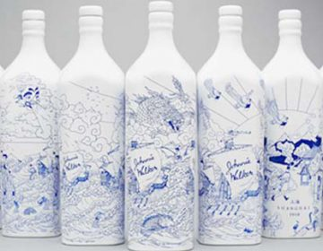 JOHNNY WALKER China Bottles By Chris Martin