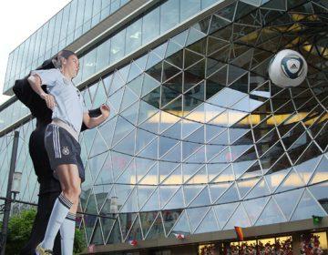 FIFA Women's World Cup Installation in Frankfurt