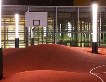 3D Styled Basketball Court | 3D²
