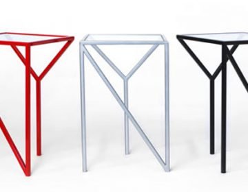 NY and LA Tables by Faktura