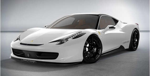 FERRARI 458 ITALIA for OAKLEY DESIGN | LIMITED EDITION
