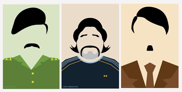 Celebrity Minimal Posters
