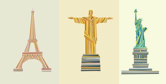 House's Landmarque print series