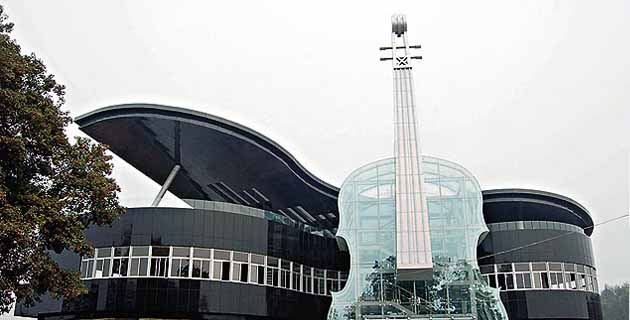 Piano House in Anhui | China