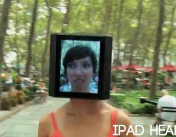 iPad Head Girl | Video