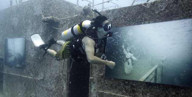 Underwater Shipwreck Art Gallery