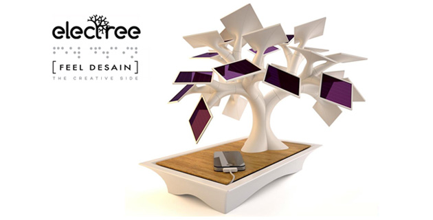 Electree: Solar bonsai