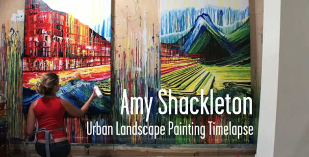 Amy Shackleton – Painting Timelapse