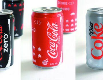Coca Cola Space Invader Edition
