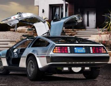 Electric New Delorean