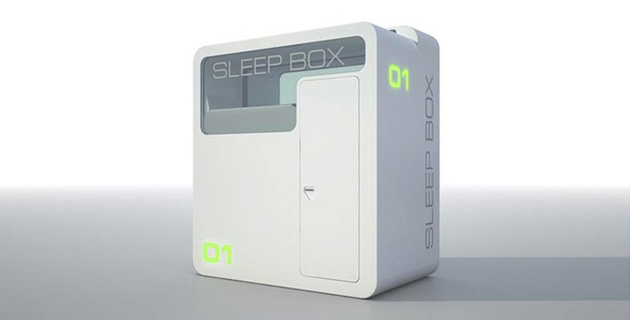 The Airport Sleepbox
