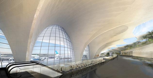 Foster +  | kuwait airport