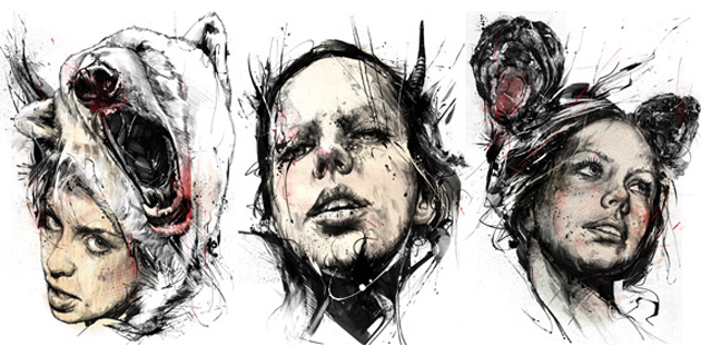 Nata5 | Russ Mills Illustrations
