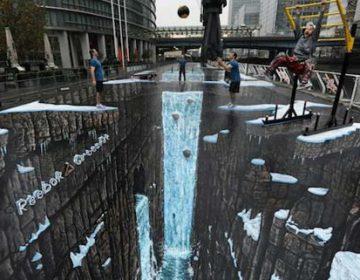 3D Street Mural