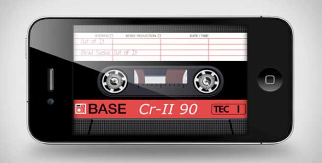 AirCassette iPhone App