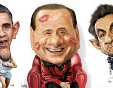 Celebrity Caricatures by Marco Calcinaro