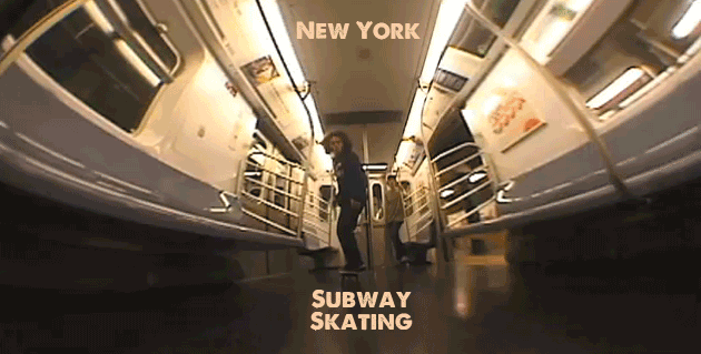 New York – Subway Skating