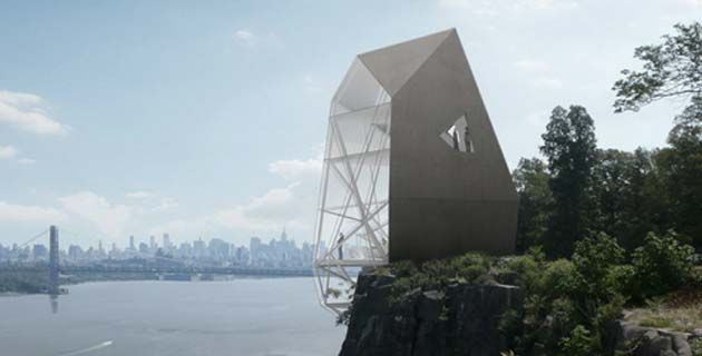 Polyhedra House in New Jersey