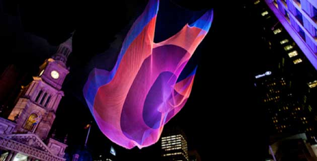 String Art by Janet Echelman
