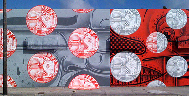 How and Nosm Mural in Miami