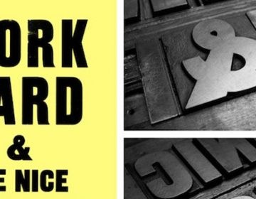 Anthony Burrill for the Design Community