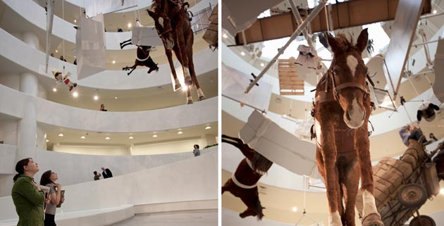 Maurizio Cattelan | Retrospective at Guggenheim, New York