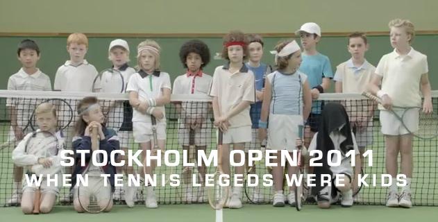 Stockholm Open 2011: When tennis legends were kids