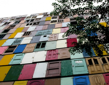 1000 Doors, 1 Public Art Installation!!!