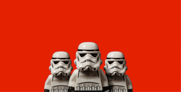 The Lego Wars Exhibition by Dale May