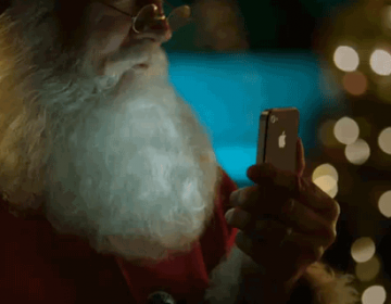 Santa using Siri | Advertising