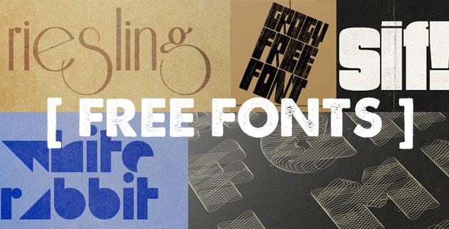 26 Free Fonts