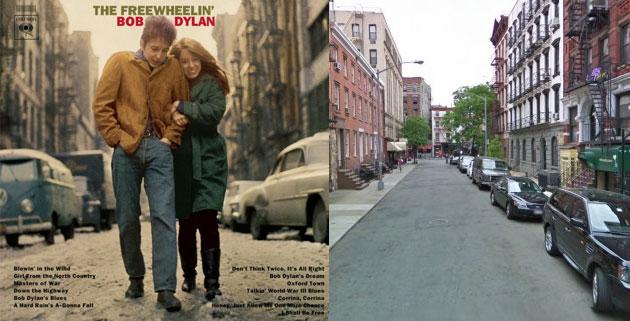 Album Covers & Street-View