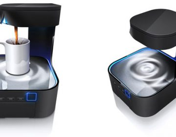 Peel Coffee Maker from the Future