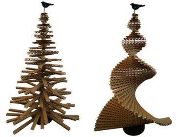 Unusual Christmas Tree by Giles Miller