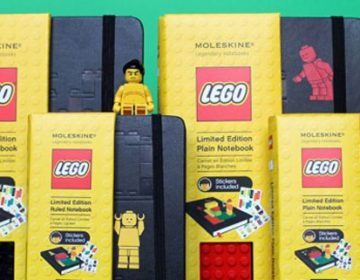 LEGO Moleskine Notebooks Collection