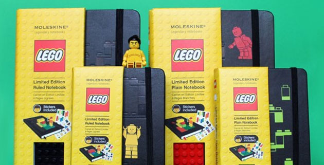 LEGO Moleskine Notebooks Collection