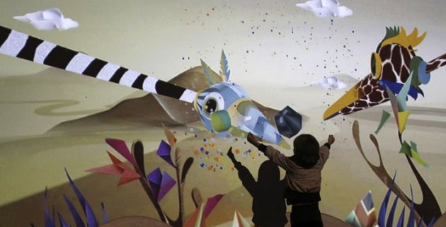 Puppet Parade | interactive installation