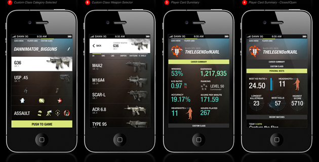 Call of Duty Elite – iPhone App